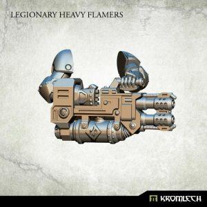 Kromlech   Legionary Conversion Parts Legionary Heavy Flamers (3) - KRCB152 - 5902216113404