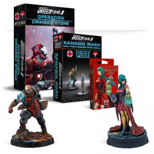 Corvus Belli Infinity  Nomads Operation Crimson Stone Exclusive Bundle - English - CORVUS-BUN-CRIM-ENG - CRIMSONBUNDLE