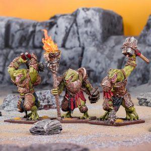 Mantic Kings of War  Salamanders (KoW) Tyrant Regiment - MGKWS402 - 5060469667119