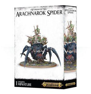 Games Workshop (Direct) Age of Sigmar  Age of Sigmar Direct Orders Orcs & Goblins Arachnarok Spider - 99120209044 - 5011921090365