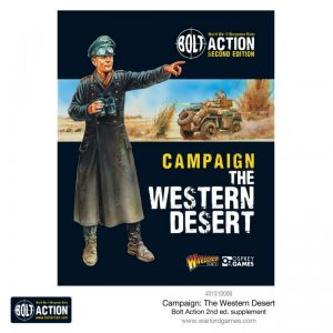 Warlord Games Bolt Action  Bolt Action Books & Accessories Bolt Action Campaign: The Western Desert - 409910037 - 9781472834355
