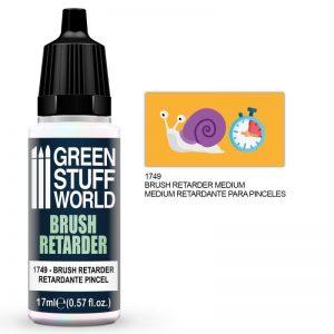 Green Stuff World   Specialist Paints Brush Retarder 17ml - 8436574501087ES - 8436574501087