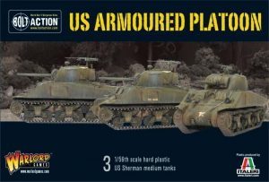 Warlord Games Bolt Action  United States of America (BA) US Armoured Platoon - WGB-START-15 - 5060393701088