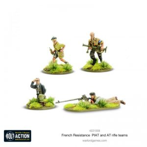 Warlord Games (Direct) Bolt Action  France (BA) French Resistance PIAT & Anti-tank rifle teams - 402215506 -