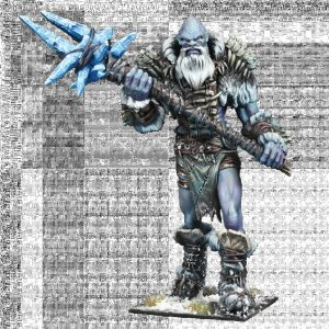 Mantic Kings of War  Northern Alliance Kings of War Frost Giant - MGKWL401 - 5060469664750