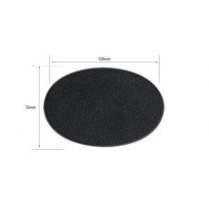 Games Workshop (Direct)   Plain Bases Citadel 105x70mm Oval Bases - 99079999011 - 5011921064724