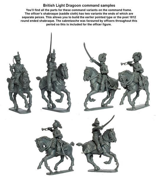 Perry Miniatures   Perry Miniatures Napoleonic British Light Dragoons 1808-15 - BH90 - BH90