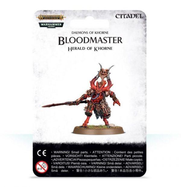 Games Workshop Warhammer 40,000 | Age of Sigmar  Blades of Khorne Bloodmaster, Herald of Khorne - 99079915005 - 5011921113194