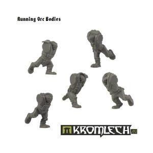 Kromlech   Orc Conversion Parts Running Orc Bodies - KRCB110 - 5902216111080