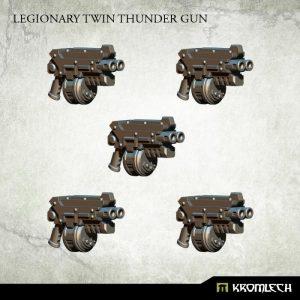 Kromlech   Legionary Conversion Parts Legionary Twin Thunder Gun (5) - KRCB210 - 5902216116382