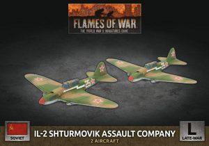 Battlefront Flames of War  SALE! Soviet IL-2 Shturmovik Assault Company - SBX77 - 9420020251496
