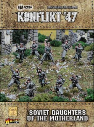 Warlord Games Konflikt '47  SALE! Daughters of the Motherland - 452210802 - 5060393704966