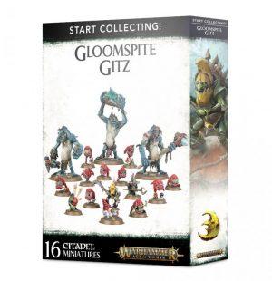 Games Workshop Age of Sigmar  Gloomspite Gitz Start Collecting! Gloomspite Gitz - 99120209056 - 5011921116348