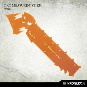 Kromlech   Tapes & Measuring Sticks Orc Measurin' Stikk [orange] (1) - KRGA051 - 5902216115651