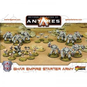 Warlord Games Beyond the Gates of Antares  SALE! Ghar Empire Starter Army - WGA-ARMY-05 - 5060393702634