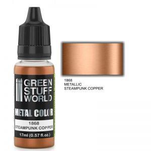 Green Stuff World   Acrylic Metallics Metallic Paint STEAMPUNK COPPER - 8436574502275ES - 8436574502275