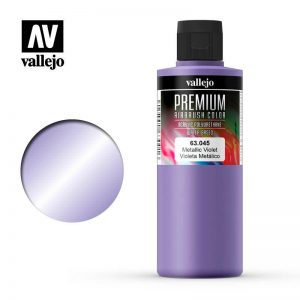 Vallejo   Premium Airbrush Colour Vallejo Premium Color - 200ml Pearl & Metallics Violet - VAL63045 - 8429551630450