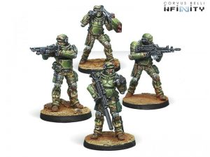 Corvus Belli Infinity  Ariadna Marauders, 5307th Ranger Unit - 280184-0621 - 2801840006218