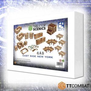 TTCombat   City Scenics (28-30mm) White Box Special: East Side New York - TTSCX-EXC-020 - 5060850179818