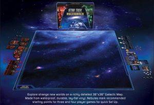 Gale Force Nine Star Trek: Ascendancy  Tabletop Gaming Mats Star Trek Ascendancy: Galaxy Play Mat (36x36) - ST004 - 9781940825946