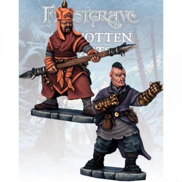 North Star Frostgrave  Frostgrave Monk & Mystic Warrior - FGV221 -