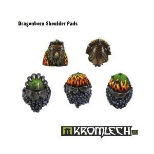 Kromlech   Legionary Conversion Parts Dragonborn Shoulder Pads (10) - KRCB089 - 5902216110878