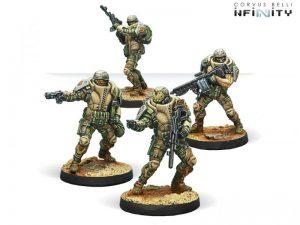 Corvus Belli Infinity  Haqqislam Djanbazan Tactical Group - 280483-0606 - 2804830006069