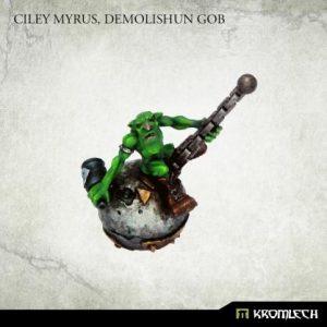 Kromlech   Orc Conversion Parts Ciley Myrus, Demolishun Gob (1) - KRM150 - 5902216119192