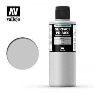 Vallejo   Model Air Primers Primer: Grey 200ml - VAL74601 - 8429551746014