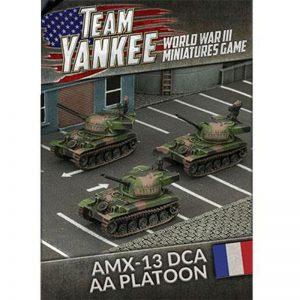 Battlefront Team Yankee  SALE! AMX-13 DCA AA Platoon - TFBX07 - 9420020239449