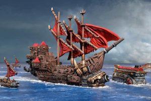 Mantic Kings of War Armada  Orcs Orc Ripper Hulk - MGARO401 - 5060469666808
