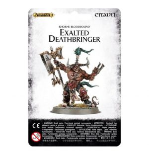 Games Workshop (Direct) Age of Sigmar  Blades of Khorne Exalted Deathbringer with Ruinous Axe - 99070201010 - 5011921063864