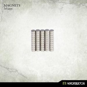 Kromlech   Magnets Neodymium Disc Magnets 2x1mm (50) - KRMA055 - 5902216115699