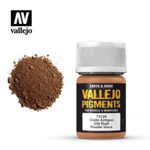 Vallejo   Pigments Vallejo Pigment - Old Rust - VAL73120 - 8429551731201
