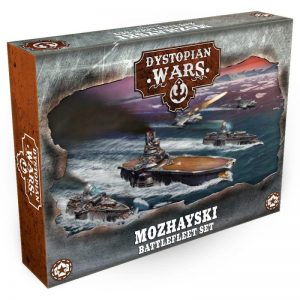 Warcradle Dystopian Wars  Dystopian Wars Dystopian Wars Mozhayski Battlefleet Set - DWA270003 - 5060504865852