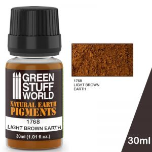 Green Stuff World   Powder Pigments Pigment LIGHT BROWN EARTH - 8436574501278ES - 8436574501278