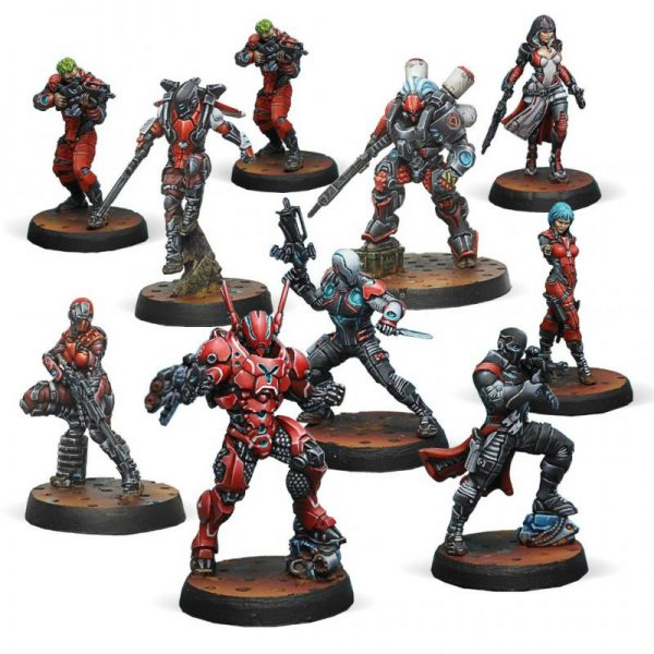 Corvus Belli Infinity  Nomads Nomads Action Pack - 281506-0838 - 2815060008389
