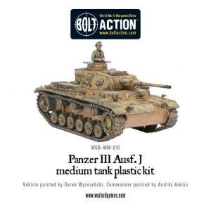 Warlord Games Bolt Action  Germany (BA) German Panzer III - 402012004 - 5060200846032