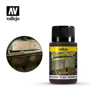 Vallejo   Weathering Effects Weathering Effects 40ml - Russian Splash Mud - VAL73802 - 8429551738026