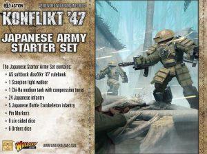 Warlord Games Konflikt '47  SALE! Japanese K47 Starter Set - 451511201 - 5060393708001