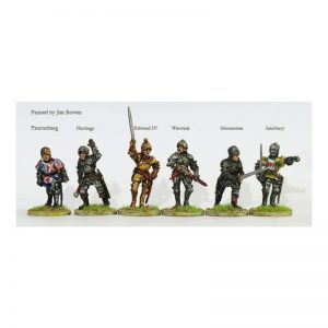 Perry Miniatures   Perry Miniatures Yorkist command and Warwick on foot - WR13 -