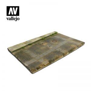 Vallejo   Vallejo Scenics Vallejo Scenics - 1:35 Cobblestone Street 31cm x 21cm - VALSC103 - 8429551983532
