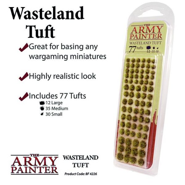 The Army Painter   Tufts Battlefields: Wasteland Tuft - APBF4226 - 5713799422605