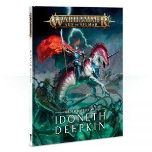 Games Workshop Age of Sigmar  Idoneth Deepkin Battletome: Idoneth Deepkin - 60030219001 - 9781788262286