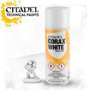 Games Workshop   Spray Paint GW Spray: Corax White - 99209999064 - 5011921154418