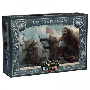 Cool Mini or Not A Song of Ice and Fire  House Stark A Song of Ice and Fire: Umber Greataxes - CMNSIF104 - 889696008190
