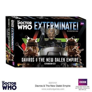 Warlord Games Doctor Who  Doctor Who Davros & The New Dalek Empire - 602010101 - 5060393706717
