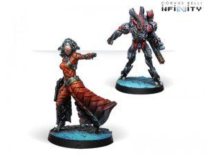 Corvus Belli Infinity  Combined Army Bit & Kiss (Hacker) - 280689-0701 - 2806890007017