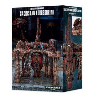 Games Workshop Warhammer 40,000  Imperial Knights Sector Mechanicus: Sacristan Forgeshrine - 99120199066 - 5011921098606