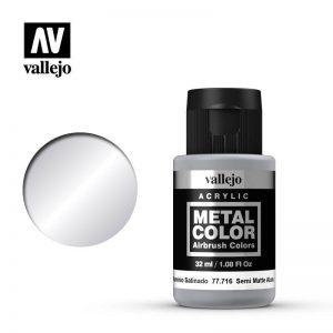 Vallejo   Metal Colour Metal Color - Semi Matt Aluminium 32ml - VAL77716 - 8429551777162